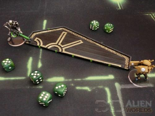 Necrontyr Range Ruler Wargaming Accessories Wargaming Tools