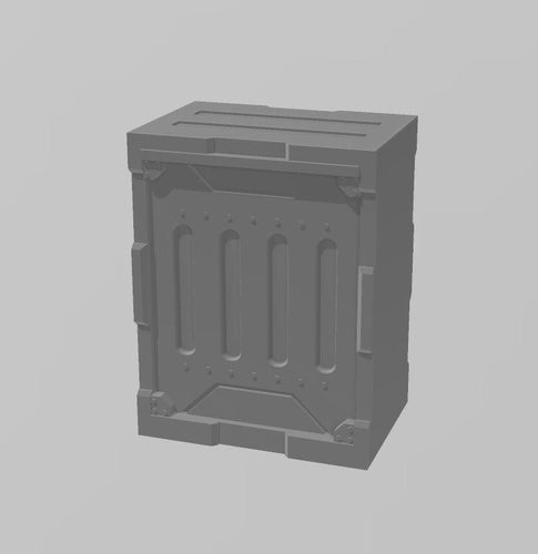 Industrial Walls Set: Single Wall 3 Wargaming Terrain Warhammer Terrain