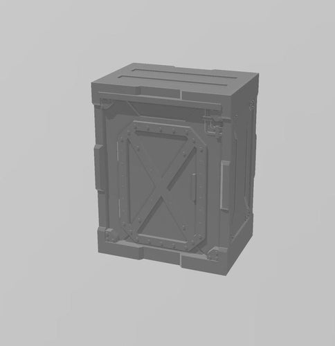 Industrial Walls Set: Single Wall 4 Wargaming Terrain Warhammer Terrain