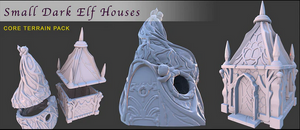 Dark Elf Small Houses