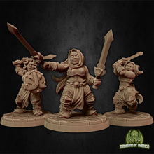 Load image into Gallery viewer, Dwarf Soldier Set 4