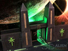 Load image into Gallery viewer, Necrontyr Tombcity Wall Set: Gateway Wargaming Terrain Warhammer Terrain