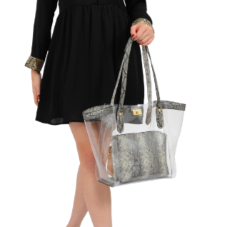 Brynn Transparent Tote - Mellow World