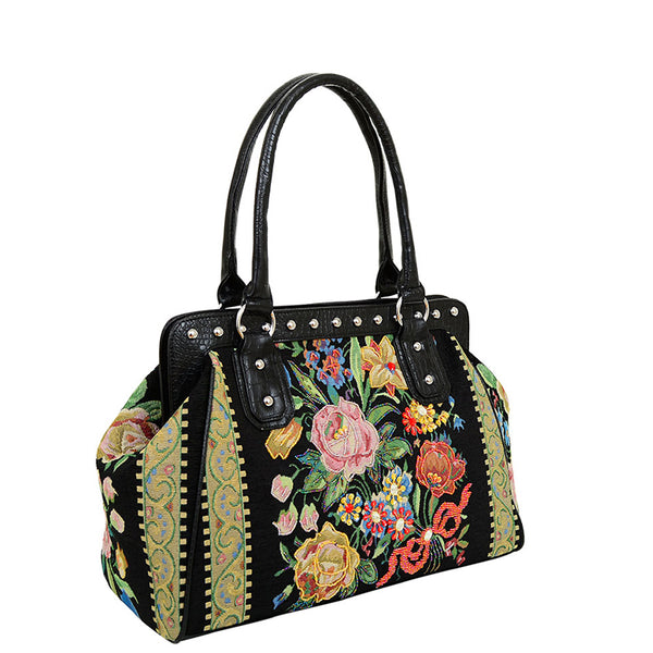 Flower Shop Hand Beaded Bag - Mellow World