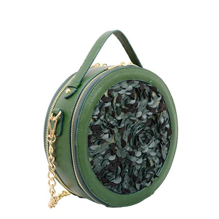 Athena Round Crossbody - Mellow World