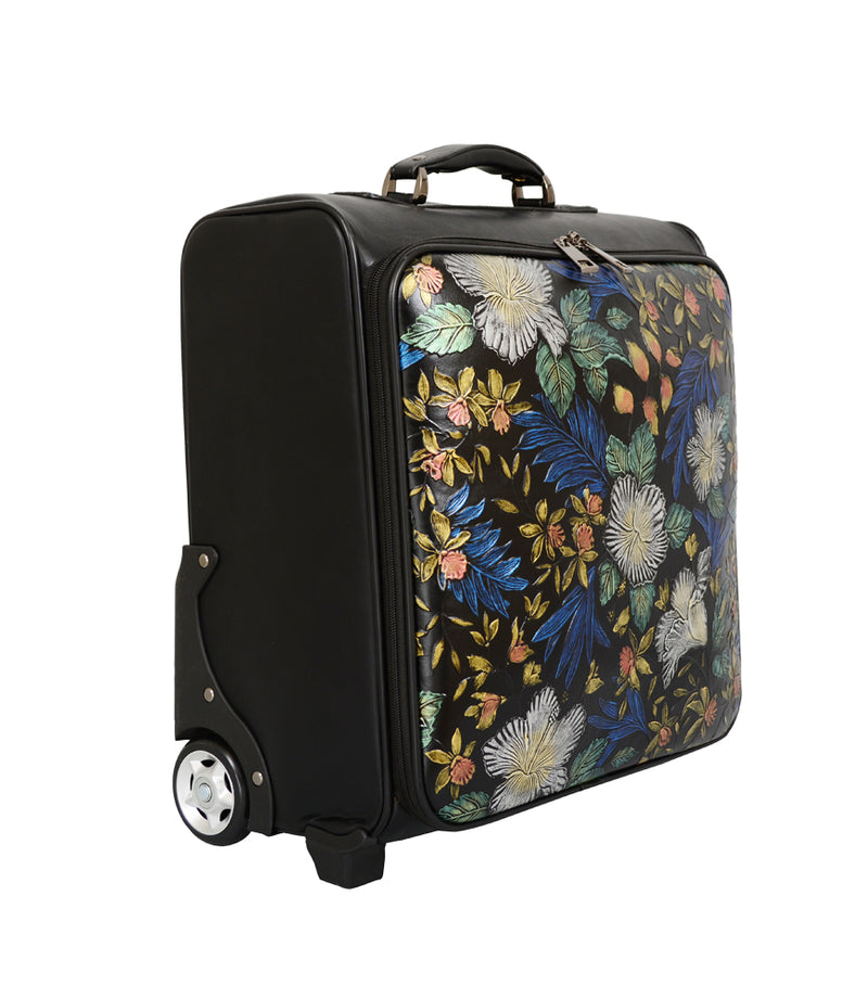 Gardenia Floral Suitcase - Mellow World