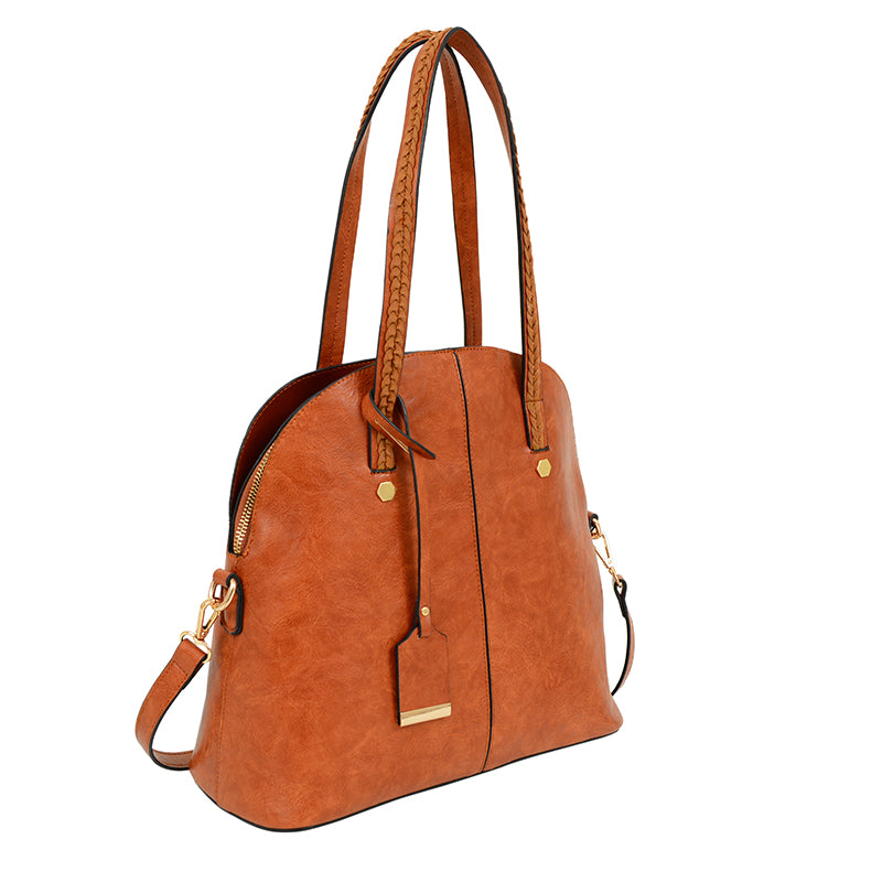 Rory Washed Bowler Bag - Mellow World