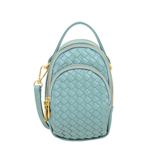 Jessa Convertible Woven Crossbody / Fanny pack - Mellow World