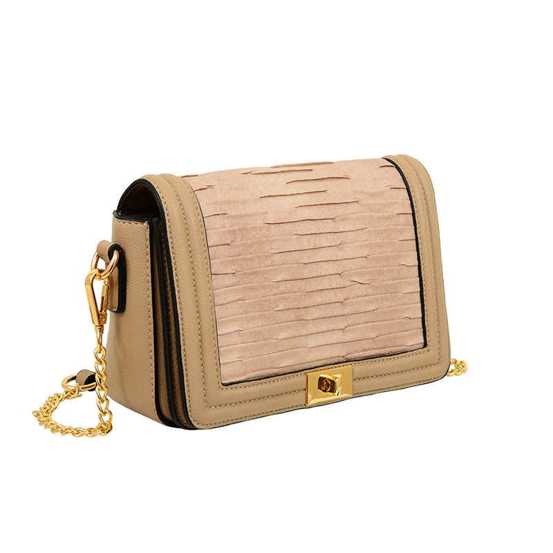 Kori Pleated Crossbody - Mellow World