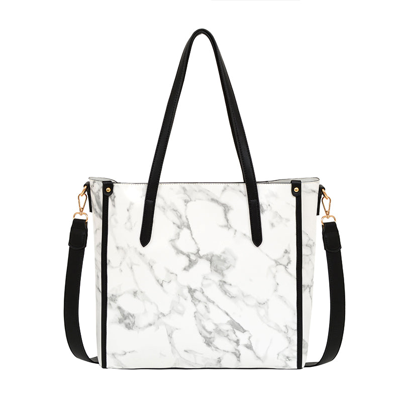 Oriana Marble Tote - Mellow World
