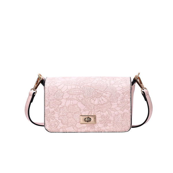 Linnett Floral Stitch Crossbody - Mellow World