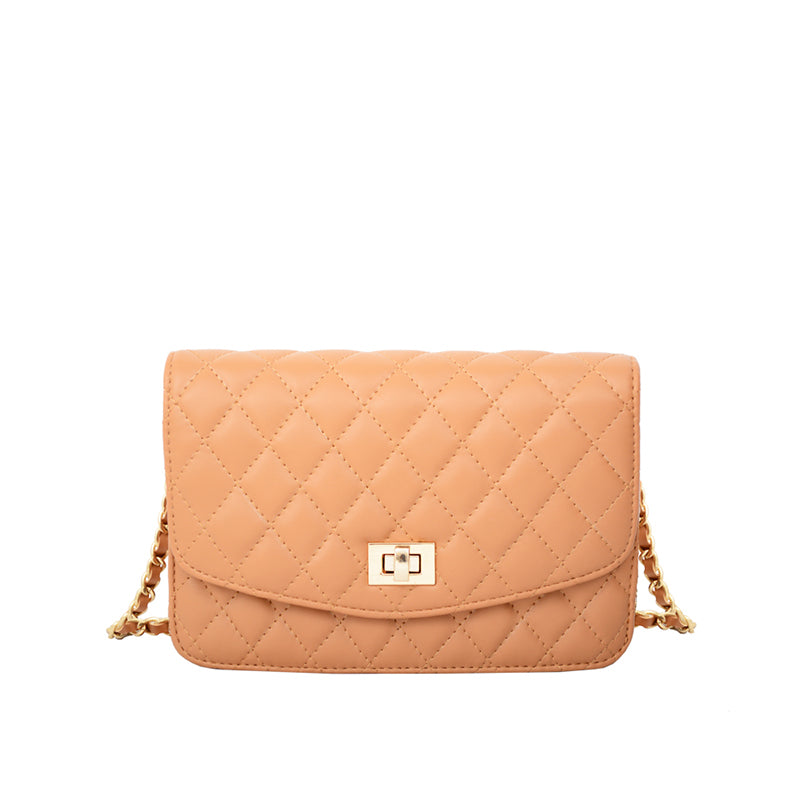 Amanda Quilted Crossbody Clutch - Mellow World