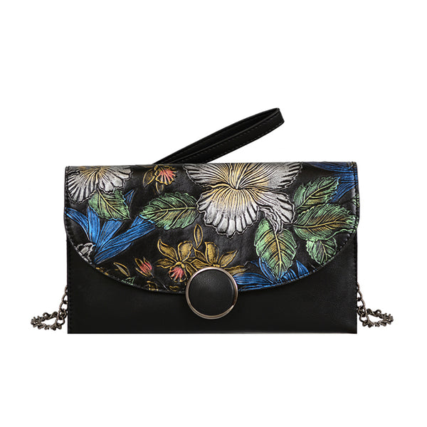 Gardenia Floral Envelope Crossbody - Mellow World
