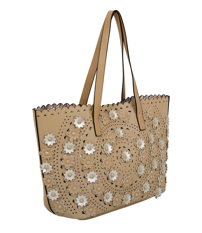 Paloma Flower Tote - Mellow World