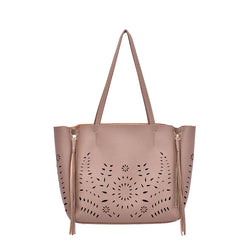 Arliss Perforated Tote - Mellow World