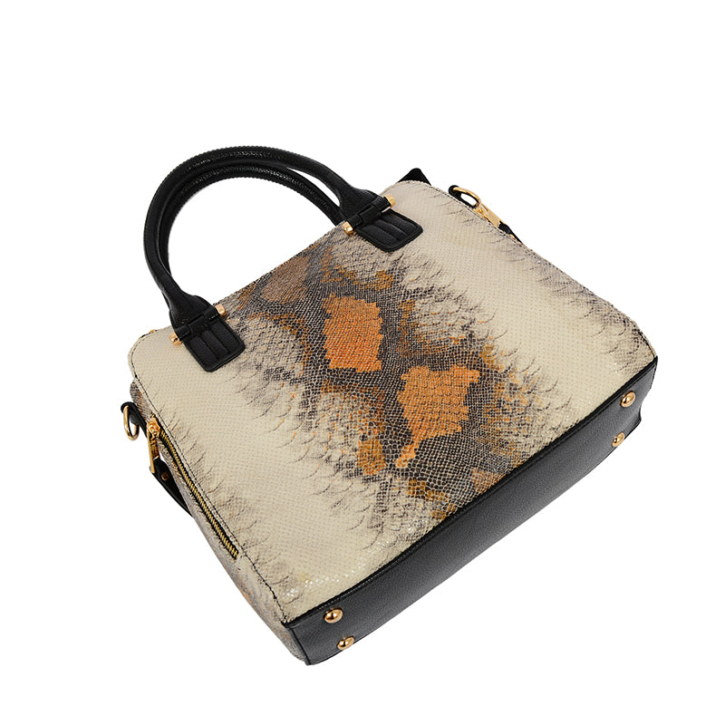 Serpico Snakeskin Satchel - Mellow World