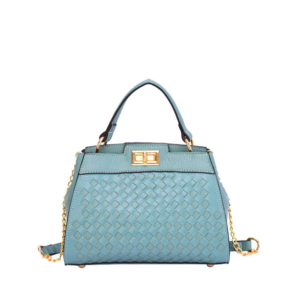 Jana Woven Satchel - Mellow World