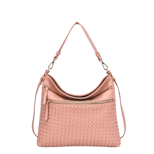 Alecia Woven Crossbody - Mellow World