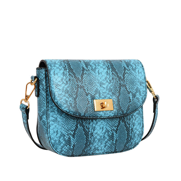 Cassidi Snakeskin Crossbody - Mellow World