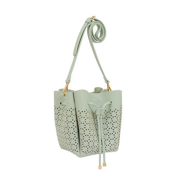 Allison Perforated Crossbody - Mellow World