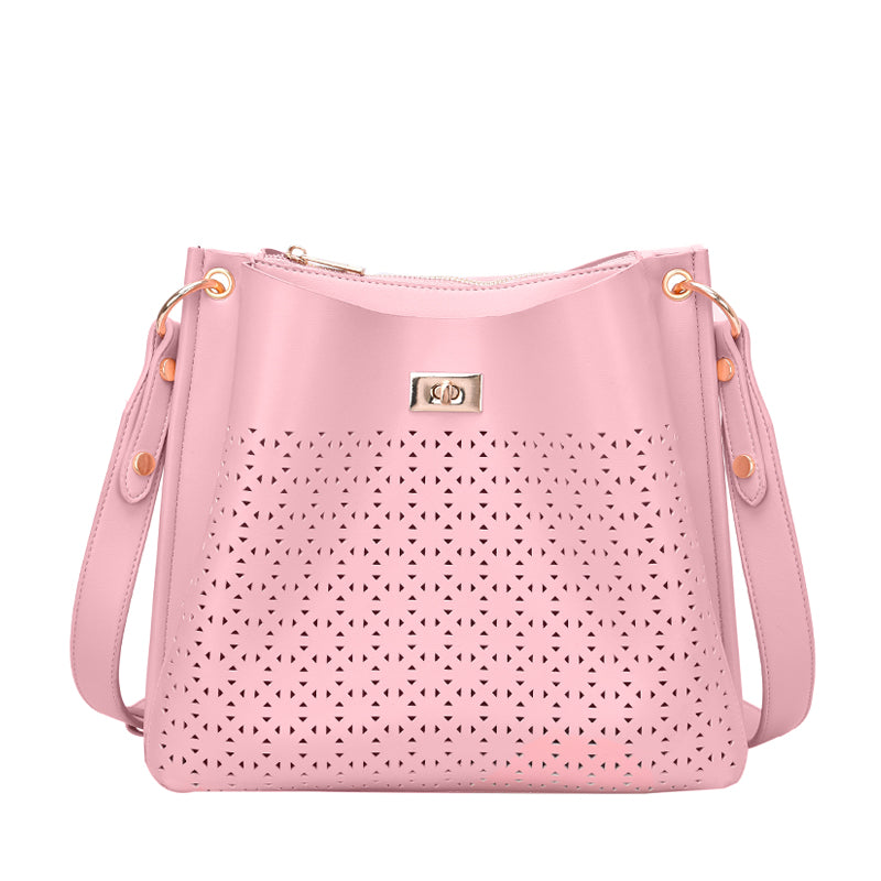 Ramona Perforated Crossbody - Mellow World