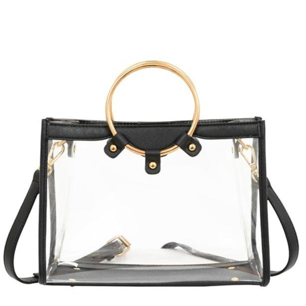 Harlow Transparent Satchel - Mellow World