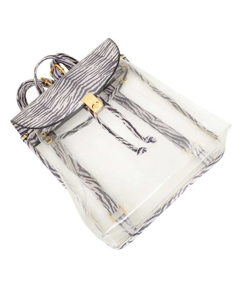 Harley Transparent Backpack - Mellow World