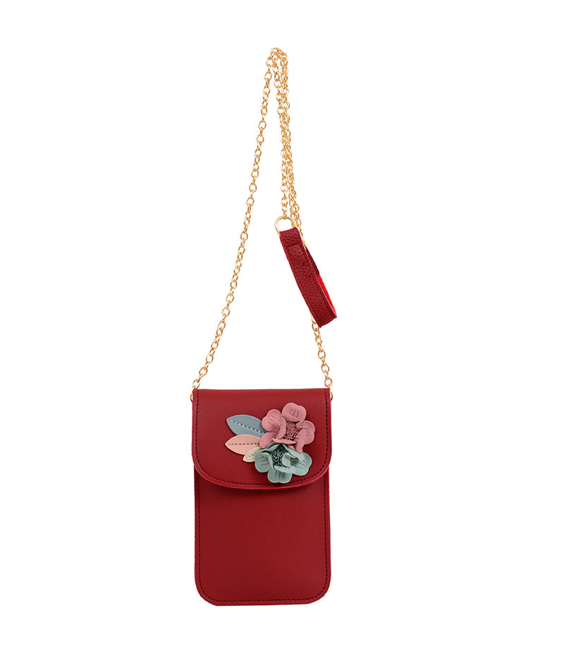 Lilith Flower Cell Phone Bag - Mellow World