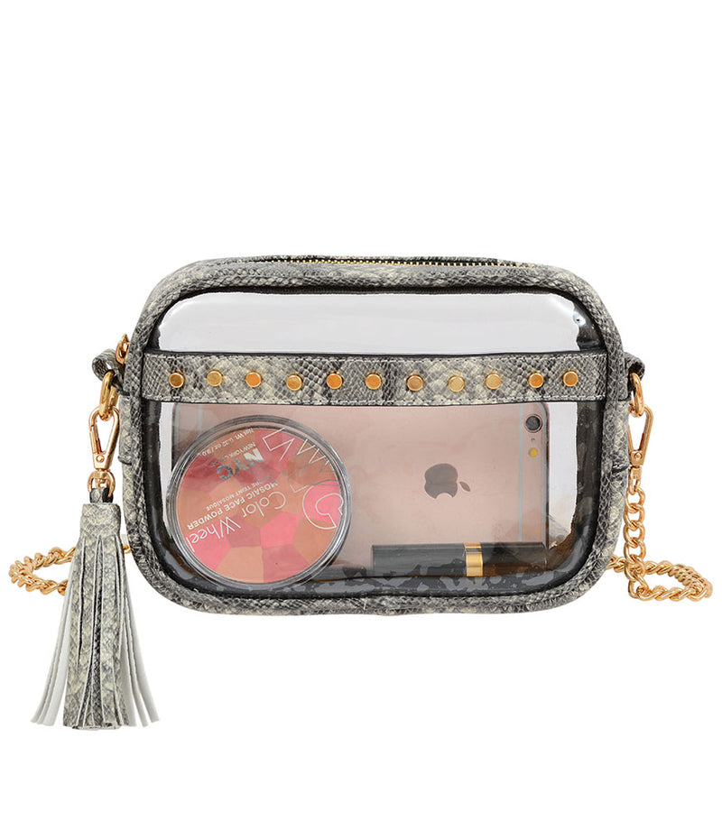 Natalia Transparent Crossbody - Mellow World