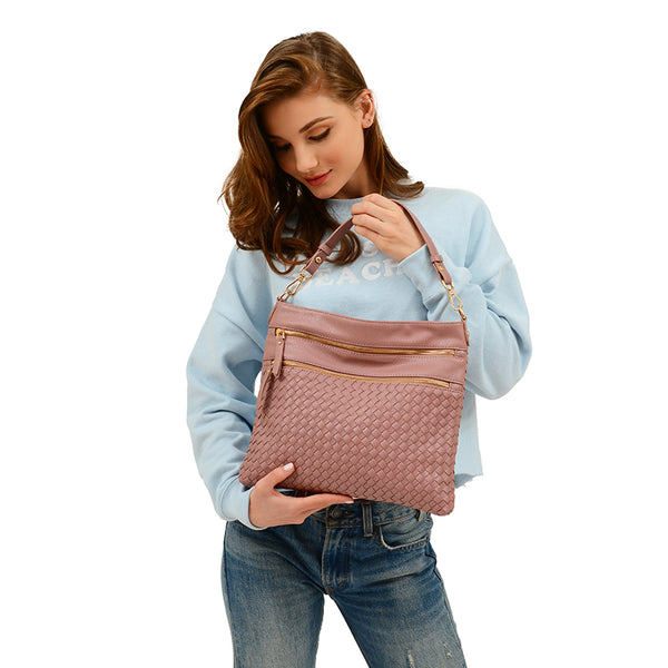Alecia Woven Hobo / Crossbody - Mellow World