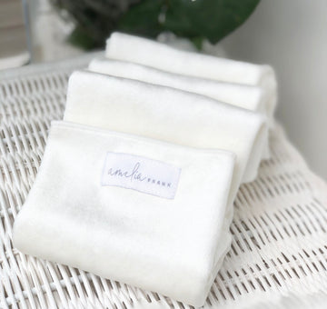 Reusable Bamboo Baby Wipes (5 Wipes)