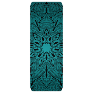 beautiful flower design custom Yoga Mats