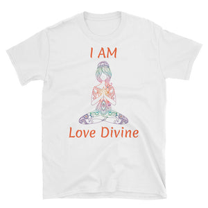 I am Love Divine - Short-Sleeve Unisex T-Shirt