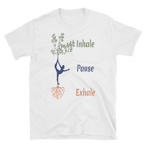 Image of Inhale Pause Exhale - Pranayam T-Shirt