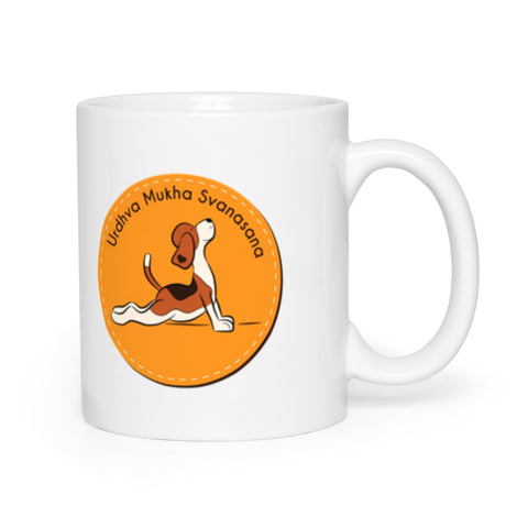 Image of Urdhva Mukha Surya Namaskar Dog Mugs