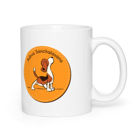 Ashva Sanchalasana - Sun Salutation Mugs