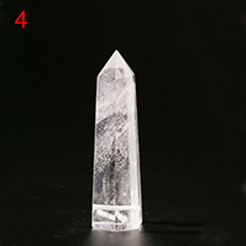Image of Natural Quartz Crystal Water Bottle