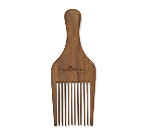 Sandalwood Afro Comb from Purely Natural by Anastasia