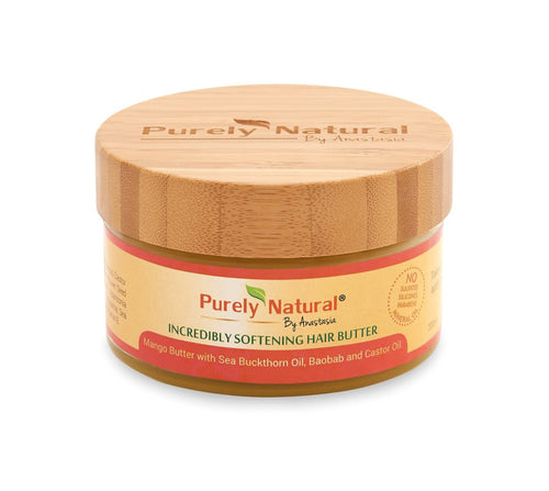 Softening Organic Mango Hair Butter from Purely Natural By Anastasia