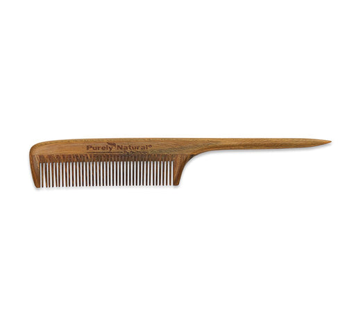 Sandalwood Rat Tail Comb from Purely Natural by Anastasia