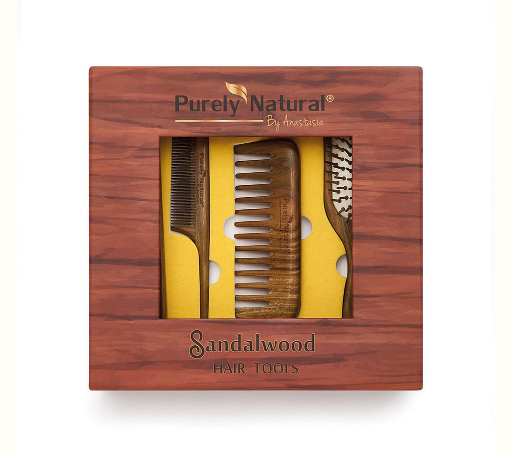 Sandalwood Hair Tools Gift Set from Purely Natural by Anastasia