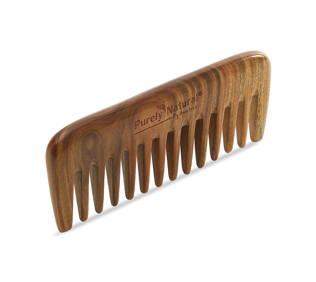 Sandalwood Wide-Toothed Comb from Purely Natural by Anastasia