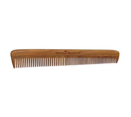 Sandalwood Barber Comb from Purely Natural by Anastasia