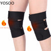 Image of 1 Pair Tourmaline Self Heating Knee Pads Magnetic Therapy Kneepad Pain Relief Arthritis Brace Support Patella Knee Sleeves Pads