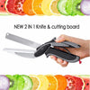 Image of 2-IN-1 KNIFE AND CUTTING BOARD
