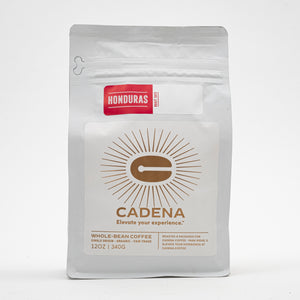 Honduras coffee bag - front