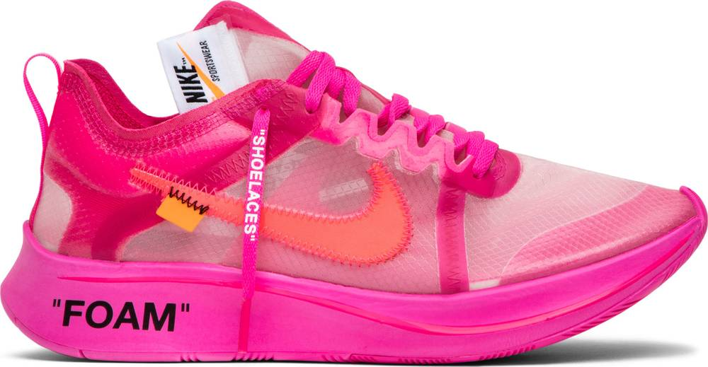 16e727b4574f ... Zoom Fly Off-white Pink