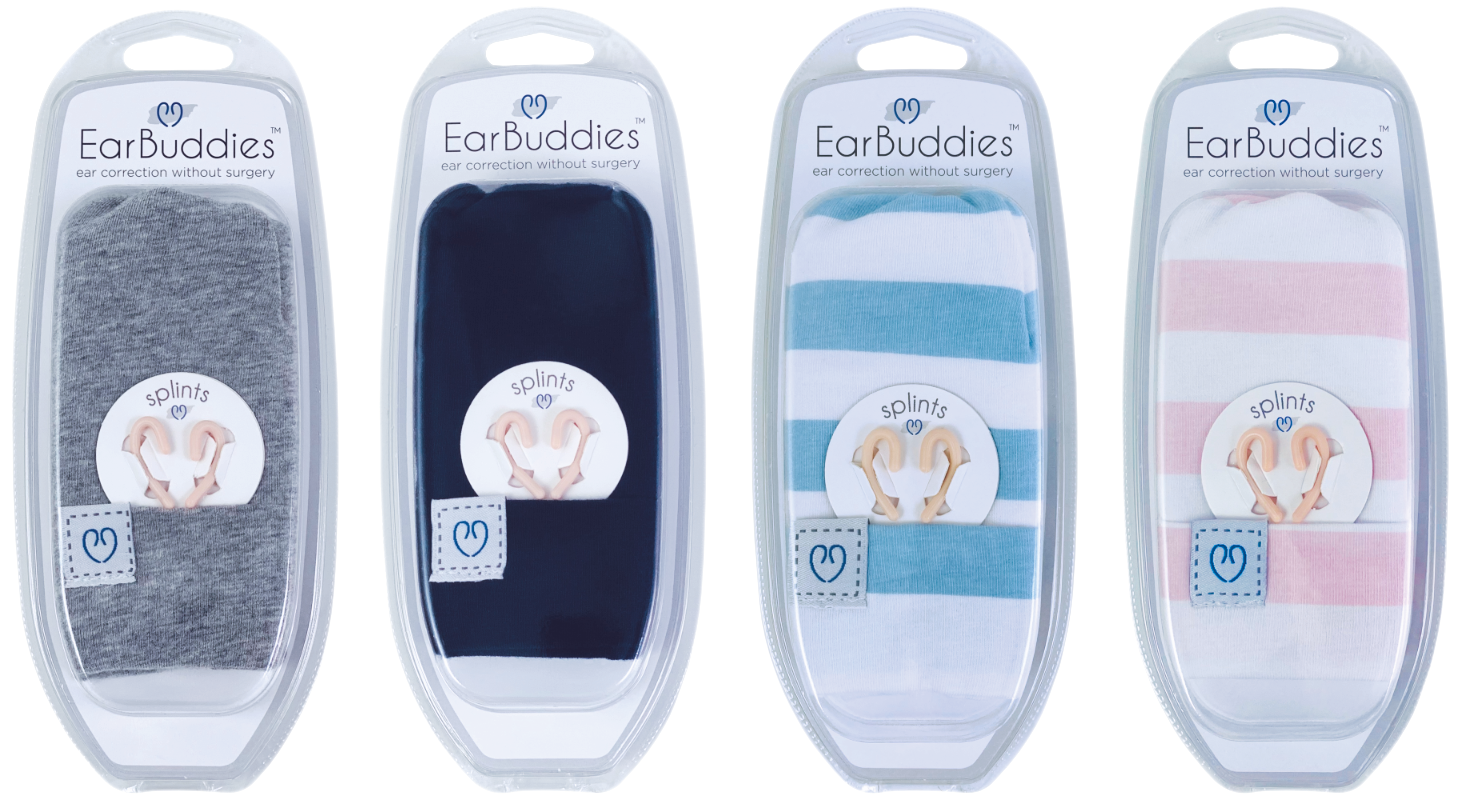 Ear Buddies Basic Kits for Correction of Deformities of the Baby Ear