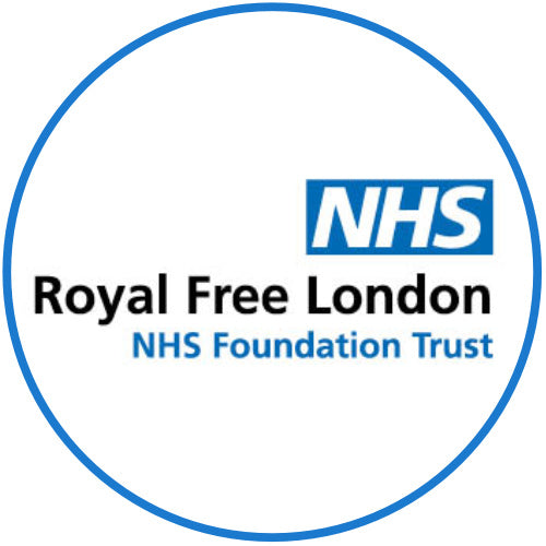 NHS Royal Free Hospital Logo