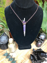 Load image into Gallery viewer, Amethyst Crown of Thorns - Serpent + Sage
